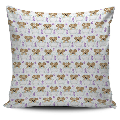 Bathtime Puppy Cushion Cover - Abby's Alley