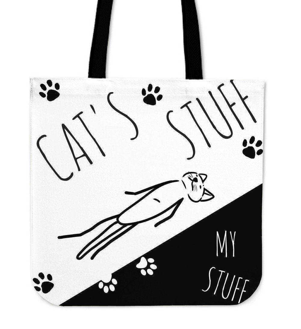 Cat Stuff Tote - Abby's Alley
