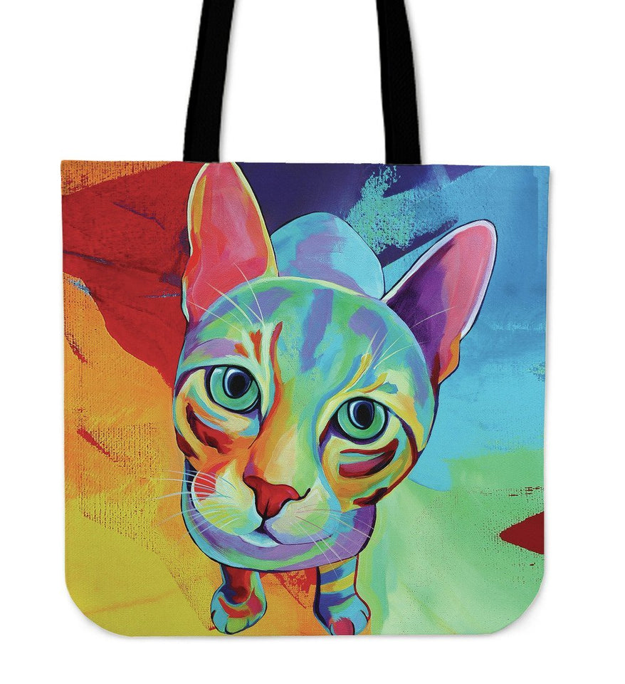 Cat Tote Bag - Cat Tote Bag - Abby's Alley