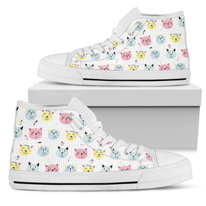 Cats Women's High Top - Abby's Alley