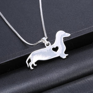 Dachshund Necklace - Abby's Alley