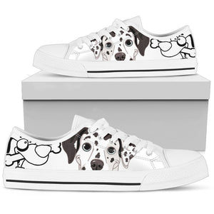 Dog Women's Low Top Shoe - Abby's Alley