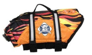 Flames Doggy Life Jacket - Abby's Alley