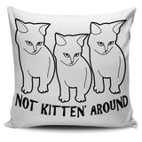 Kitten Pillow White - Abby's Alley