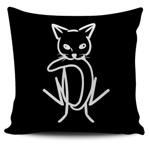 My Tail Black Pillow - Abby's Alley