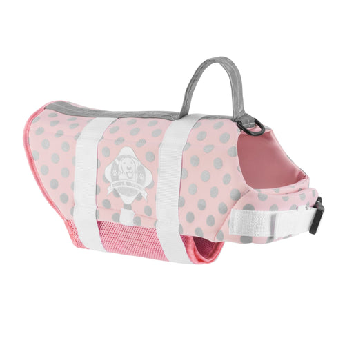 Pink, Grey and Silver Life Jacket - Abby's Alley
