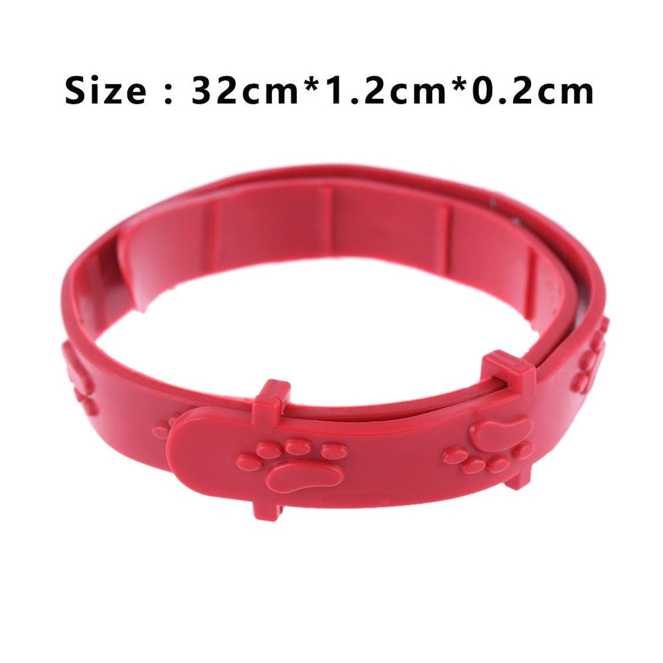 Red Adjustable Outdoor Cat Collar - Abby's Alley