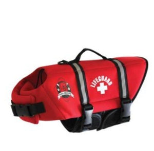 Red Lifegard Doggy Life Jacket - Abby's Alley