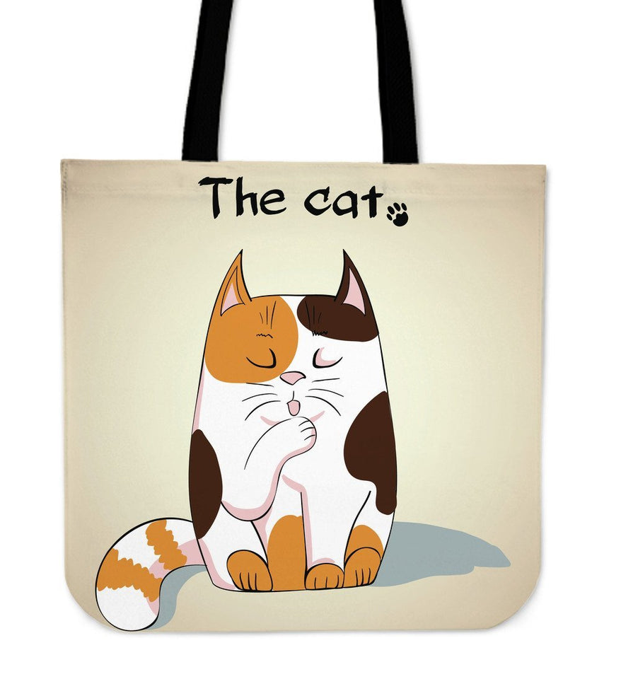 The Cat Cloth Tote Bag - Abby's Alley