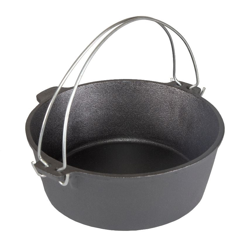 Dutch Oven Pre-seasoned 5 Piece Cast Iron Cook Set
