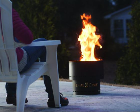 Outdoor SMOKELESS Patio Wood Pellet Stove