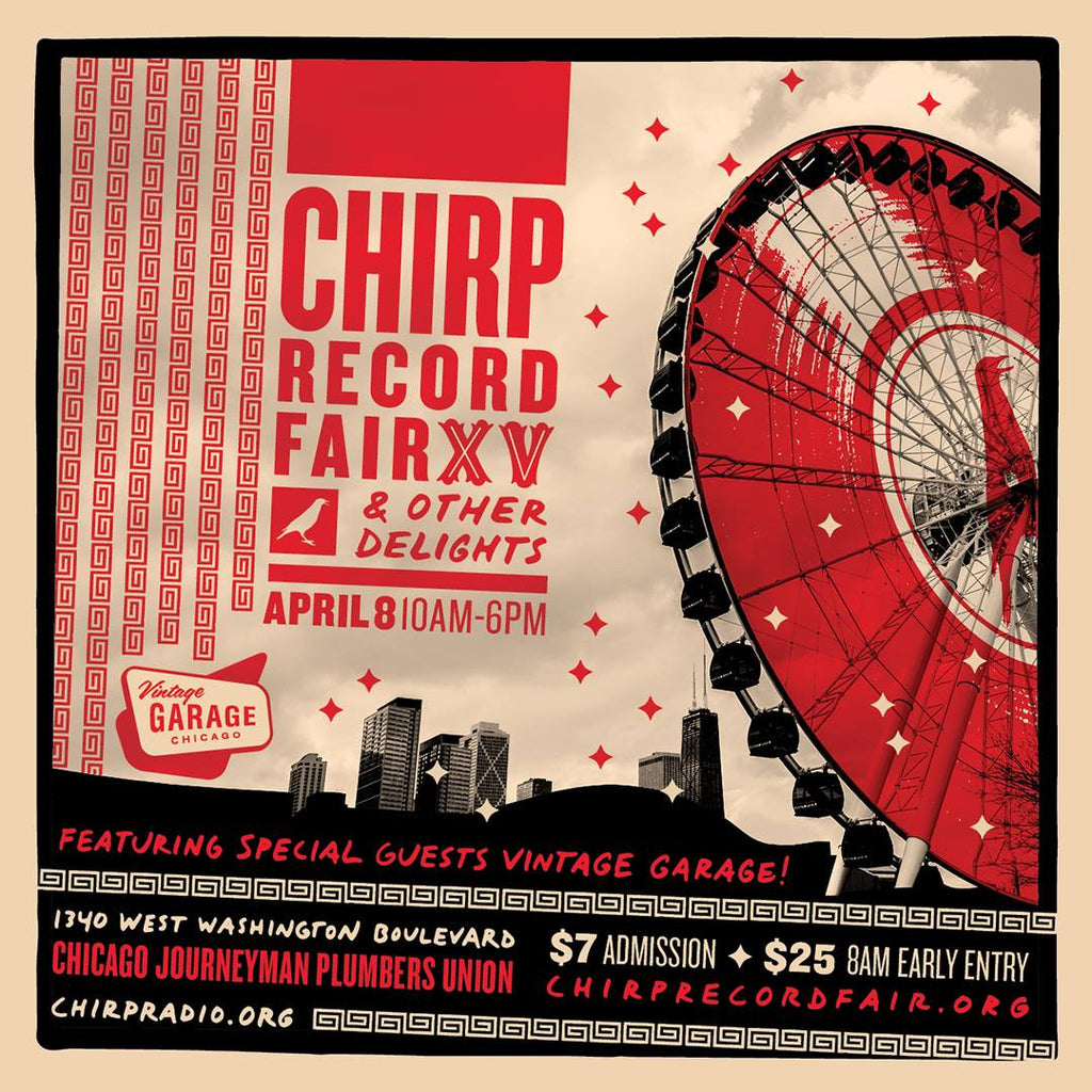 15th Annual CHIRP Record Fair