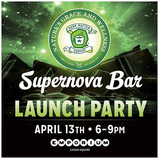 Launch of Supernova Cannabis + Coffee + Chocolate Bars!