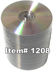 CD-RW 700MB 12X Shiny Silver, 100-Pack
