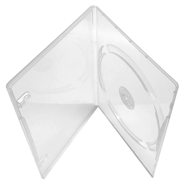 Slim DVD Case - Clear - 7mm , 100 Pack