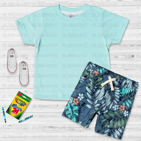 Toddler Mockup - Mint Green