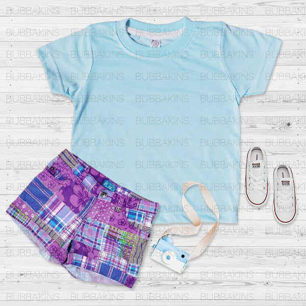 Toddler Mockup - Blue