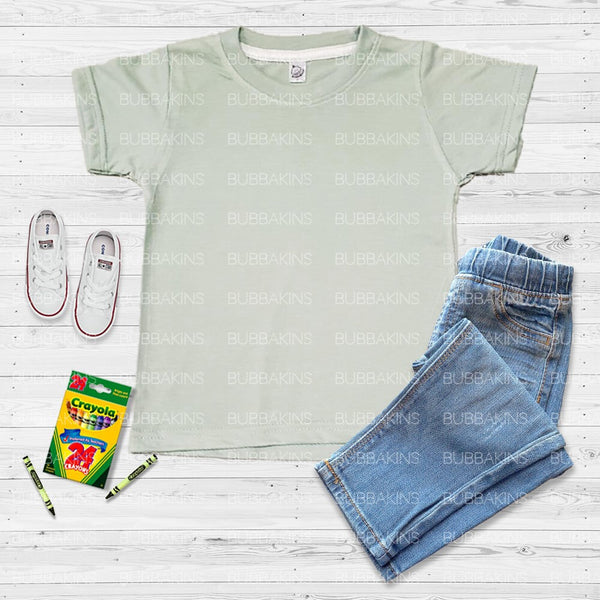 Toddler Mockup - Sage Green