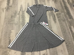So Nikki Adidas Stripe skirt