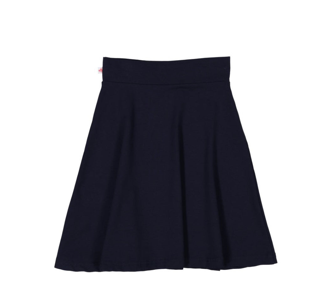 Three Bows Camp Skirt Spring Navy