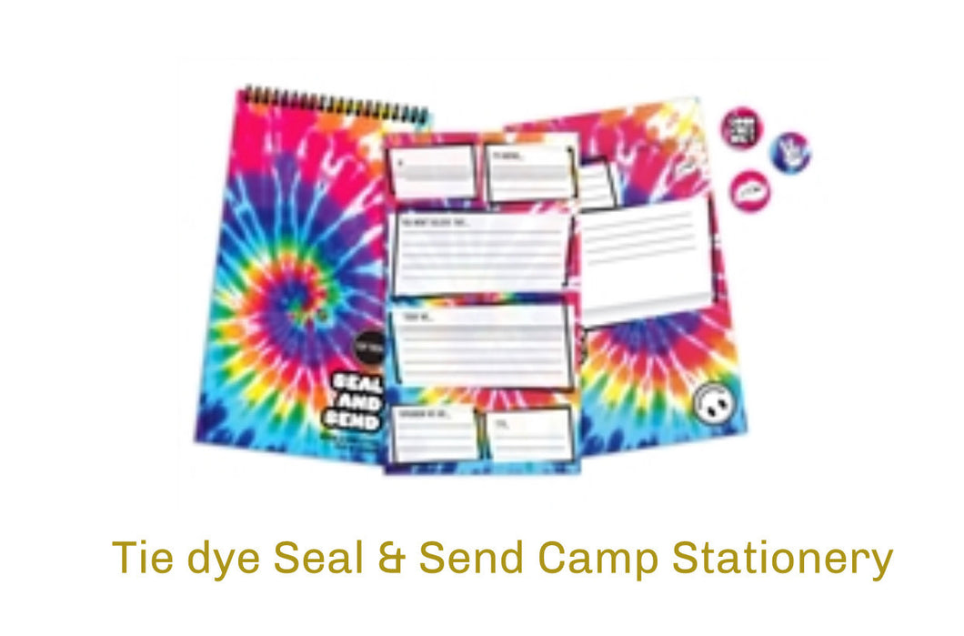 Camp Tie Dye Stationary