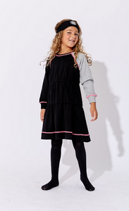 One Child Burlson Dress black/grey