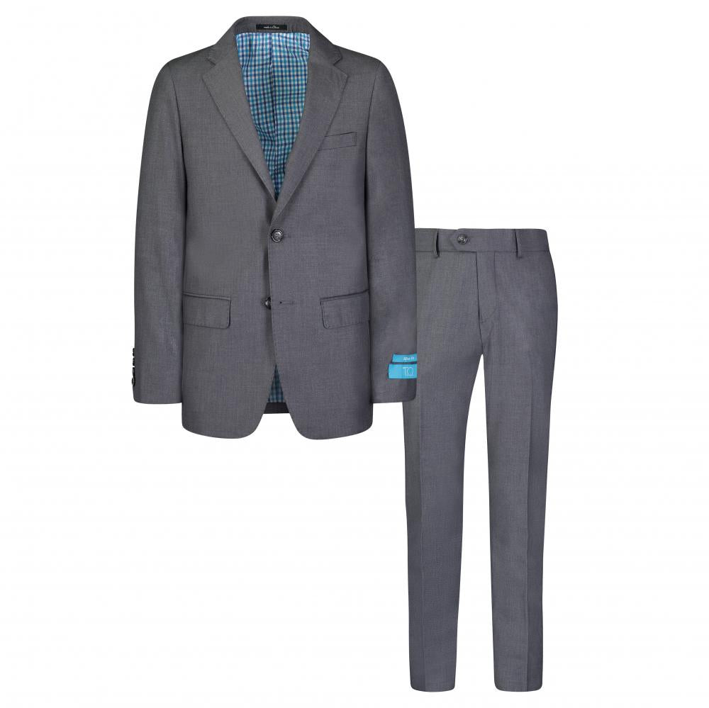 T.O. Grey Slim Suit
