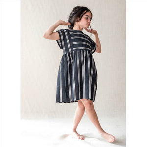 Belle Chiara 366 Black stripe dress