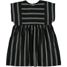 Load image into Gallery viewer, Belle Chiara 366 Black stripe dress