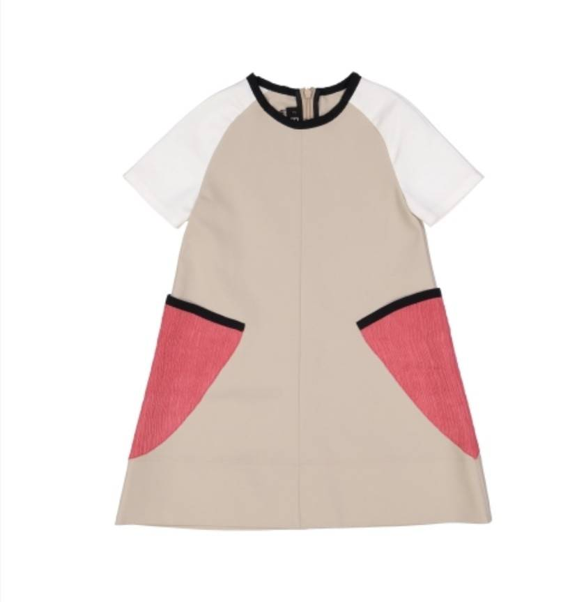 Boboketta 1001 Colorblock dress