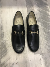 Load image into Gallery viewer, Luccini TRIO gucci loafer blk