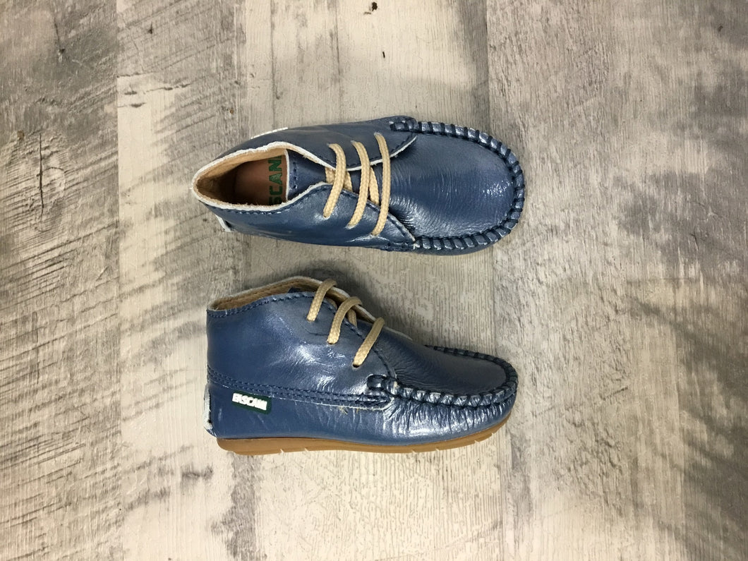 Luccini 15010 blue baby shoe
