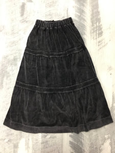 Kikio black wash skirt 1345