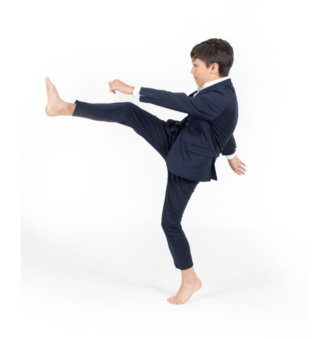 TO 9131-2S Navy stretch Suit