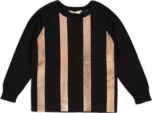 Nove Metallic 137 BK Sweater
