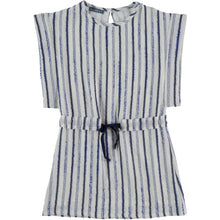 Load image into Gallery viewer, Tarantela blue stripe dress