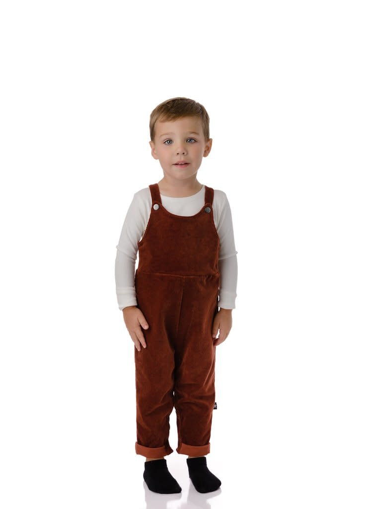 PC2 Baby Boys' Corduroy Romper in Rust