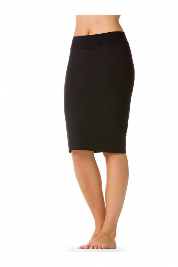 Hardtail black pencil skirt w321