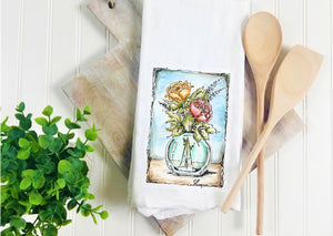 Tea Towel- Roses