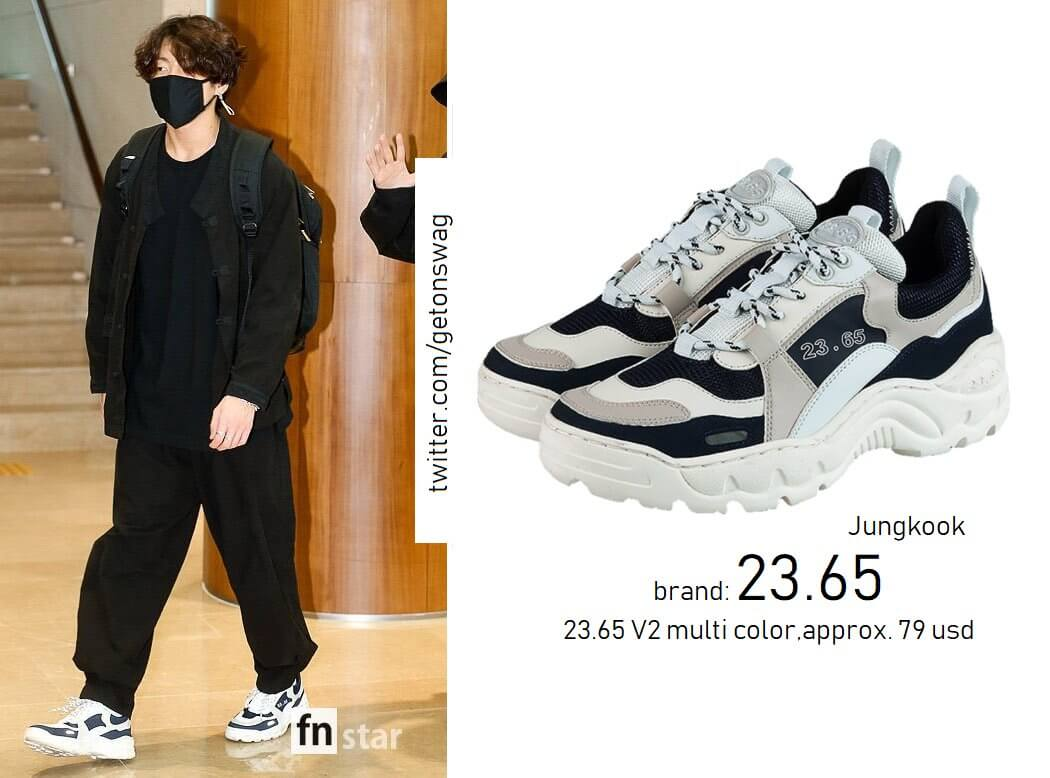 23.65 v2 shoes jungkook