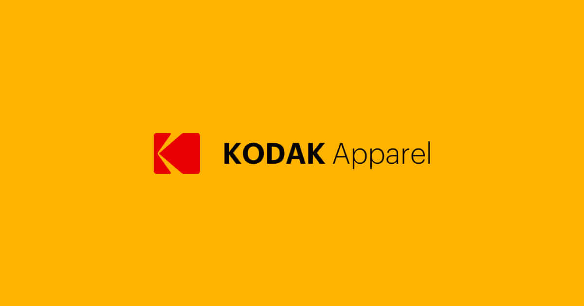 kodak apparel