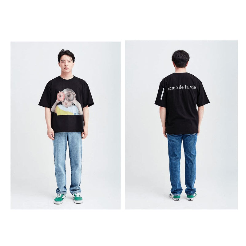 ADLV Baby Face Donuts Boy 1 Oversized Graphic T-shirt styleupk