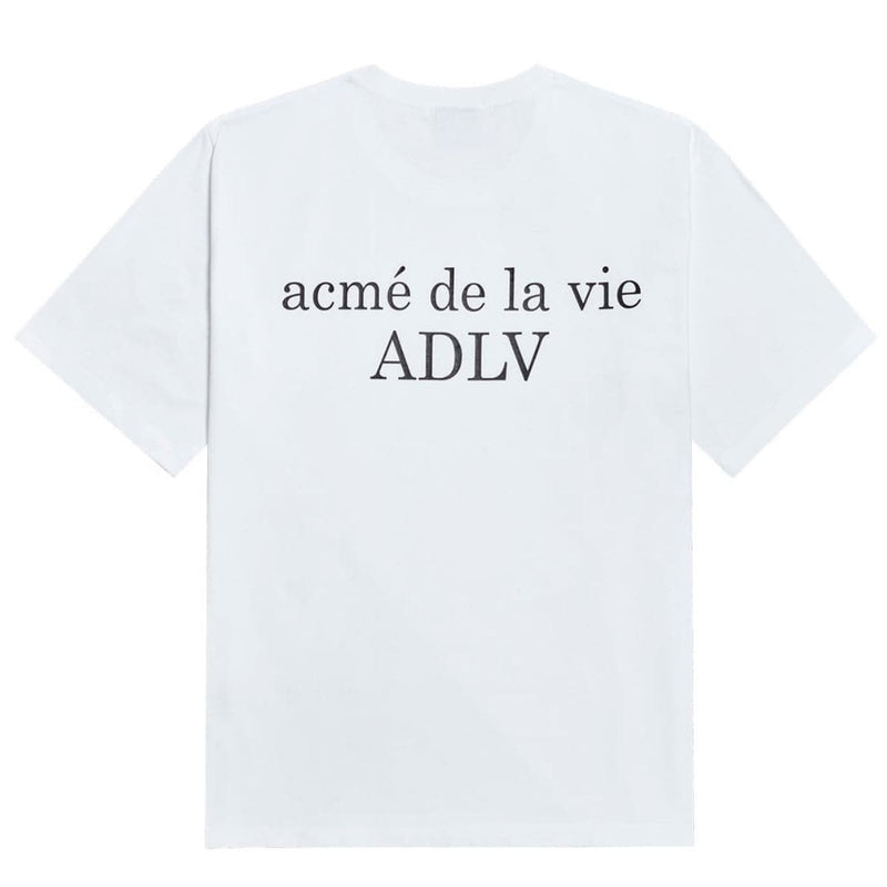 ADLV Baby Face Ice Cream Boy Oversized Graphic T-shirt White styleupk