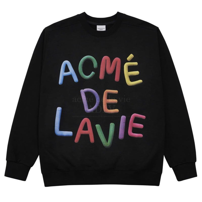 ADLV Clay Oversized Sweatshirt Black ADLV