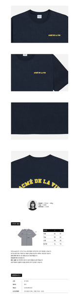 ADLV Old School Oversized T-shirt Navy SG ADLV