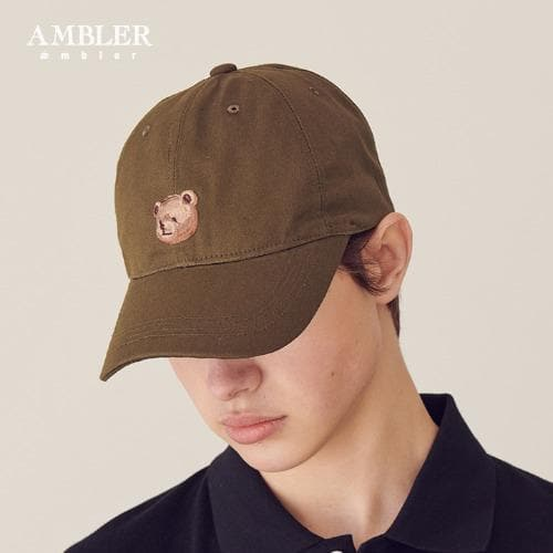 Ambler Korea Brown Teddy Bear Ballcap styleupk