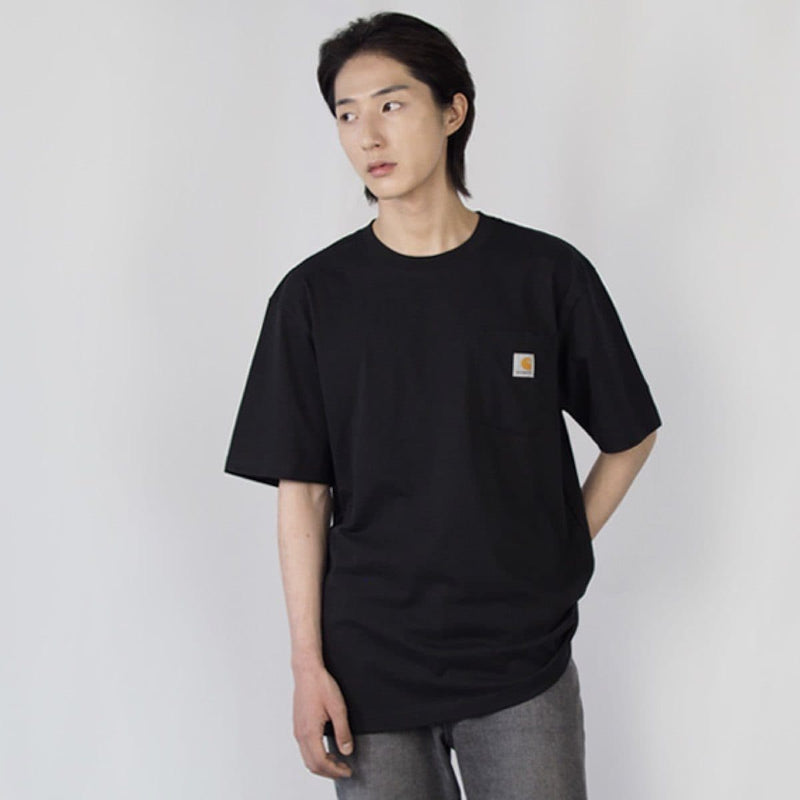Carhatt Korea Workwear Pocket Oversized T-shirt K87 styleupk