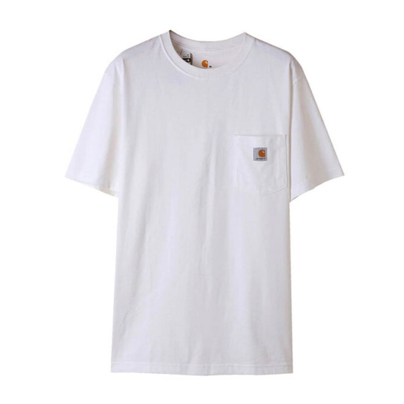 Carhatt Korea Workwear Pocket Oversized T-shirt K87 styleupk White L