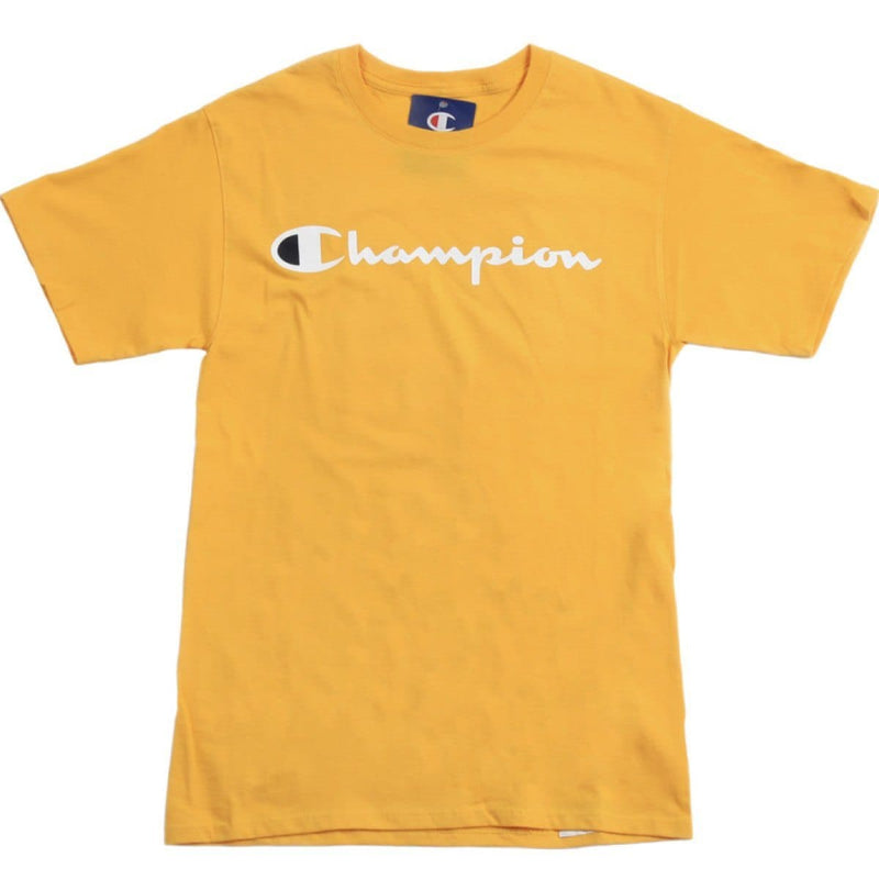 Champion Korea Script Graphic Logo T-shirt GT23H styleupk Gold S