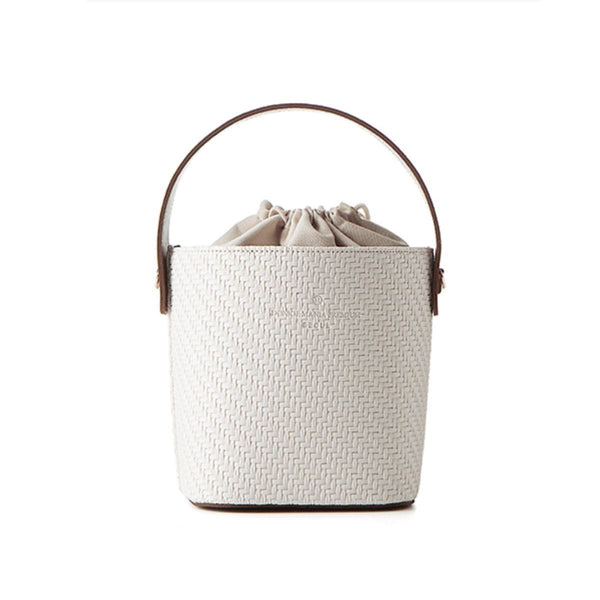 Donkie Almond Bucket Bag White SG Donkie